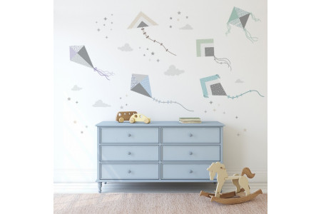 Cerfs-volants Multicouleurs