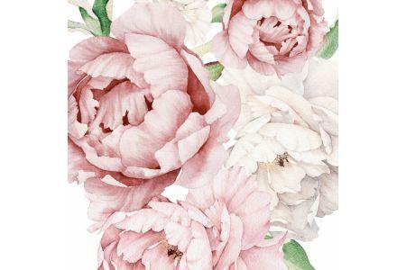 Pivoines Pastel Rose