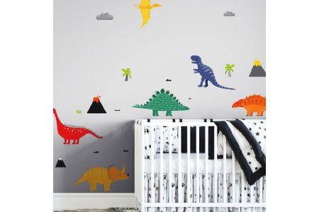 Dinosaures Colorées