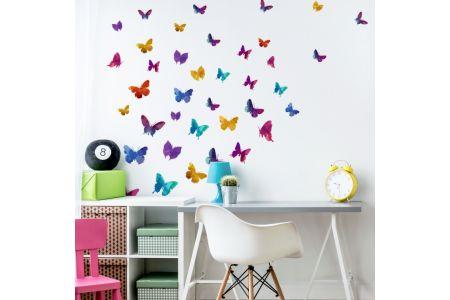 Papillons Colorées