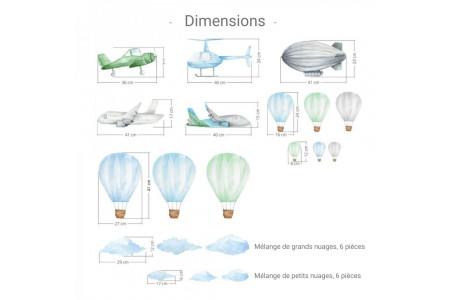Avions et Montgolfières