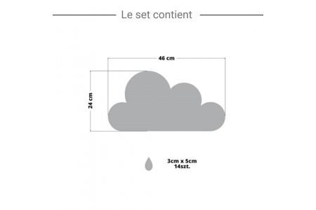 Nuage Doré & Pluie