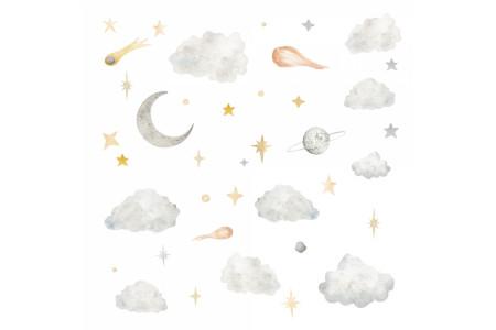 Nuages et étoiles