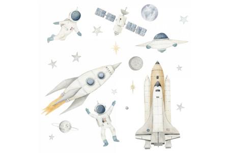 Fusées et astronautes