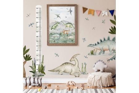 Image Cinq Dinosaures